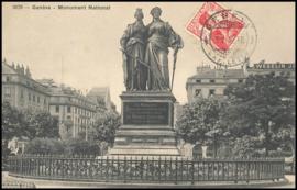 © 1912 SWITZERLAND Helvetia Monument Genève