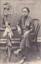 © 1909 INDO CHINA Annamite woman