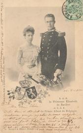 © 1900 - BELGIUM Coat of arms