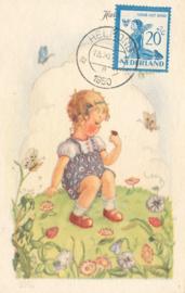 ® 1950 - CATA 567 Kind en vlinder