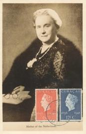 ®® 1948 - NVPH 196/97 CURAÇAO Koningin Wilhelmina