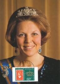 ®® 1980 NVPH 655a NED. ANTILLEN Koningin Beatrix