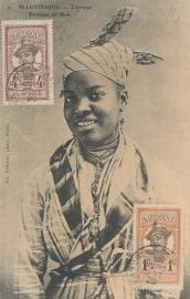 © 1920 MARTINIQUE Creole woman costume