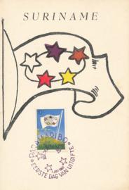 ®®® 1960 - CATA 347 - SURINAME Vlag