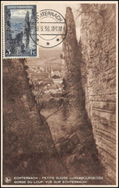 © 1936 LUXEMBOURG Gorge du loup
