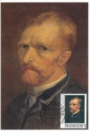 PG008 Van Gogh Self portrait 1886