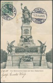 © 1905 - GERMAN REICH - National Statue Germania