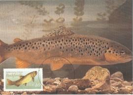 1987 GERMANY DDR Salmon