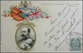 © 1904 - MALTA King Edward VII