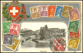 © 1911 SWITZERLAND Stamp Helvetia
