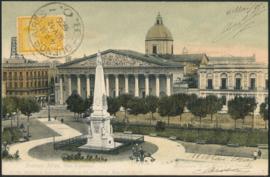 © 1905 ARGENTINA Republic statue Phrygian cap