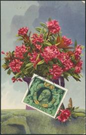 © 1911 - BAVARIA Garland Flowers