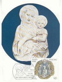 1982 VATICAN - Della Robbia