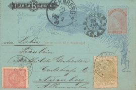 © 1894 - BRAZIL Southern Cross