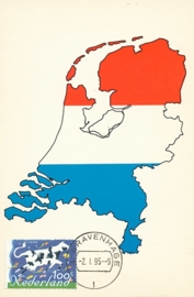 ® 1995 - CATA 1630 Landkaart
