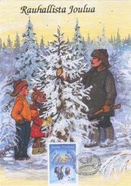 1994 FINLAND - Christmas tree