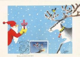 1995 FINLAND - Christmas deer