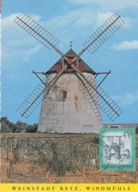 1981 AUSTRIA - Windmill Retz