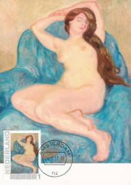 þþ - 2017 L. Valtat Girls Nude Female on a Blue Chair