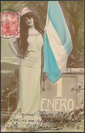 © 1907 ARGENTINA Republic Phrygian cap