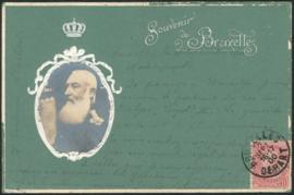 © 1900 - BELGIUM King Leopold II
