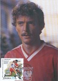 1998 POLAND - Soccer Boniek