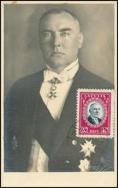 © 1939 - LATVIA Minister A. Kviesis