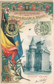 © 1905 - BELGIUM Coat of arms