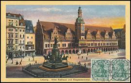 © 1911 - GERMAN REICH - Leipzig Statue Germania