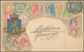 ® 1907 - CATA 55 Cijferzegels