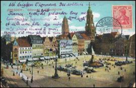 © 1913 - GERMAN REICH - Dresden Statue Germania