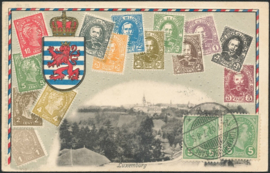 © 1907 LUXEMBOURG Grand Duke Adolphe I