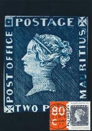 ® 1995 - CATA 1633 Blauwe Mauritius
