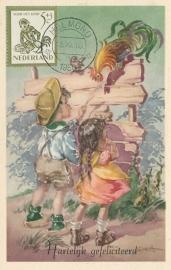 ® 1950 - CATA 564 Kind en haan