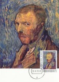 PG022 Van Gogh Self portrait 1889