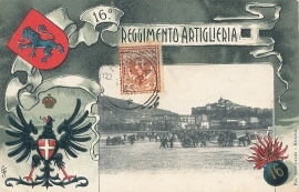 © 1902 - ITALY - House of Savoy Coat of arms