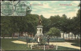 © 1910 - GERMAN REICH - Neumünster Statue Germania