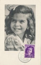 ®® 1948 - NVPH 205 CURAÇAO Meisjesportret