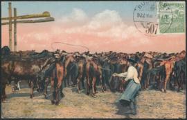 © 1922 - HUNGARY T-shaped sweep well