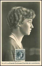 © 1938 LUXEMBOURG Grand Duchess Charlotte