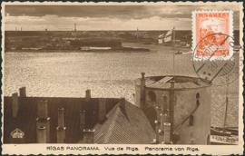 © 1935 - LATVIA Castle of Riga