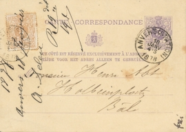 © 1878 - BELGIUM Coat of arms