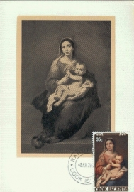 1979 COOK ISLANDS Madonna and child