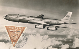 ®®® 1960 - CATA 344 - SURINAME Boeing 707
