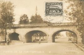 © 1934 GUATEMALA Railroad bridge