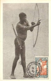© 1939 - FRENCH GUIANA - Warrior with bow