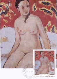 1969 ROMANIA - Nude by Tonitza