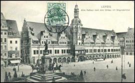 © 1913 - GERMAN REICH - Leipzig Statue Germania