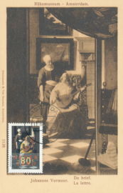 ø The love letter by Vermeer