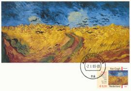 ® 2003 - CATA 2151 Korenveld met kraaien